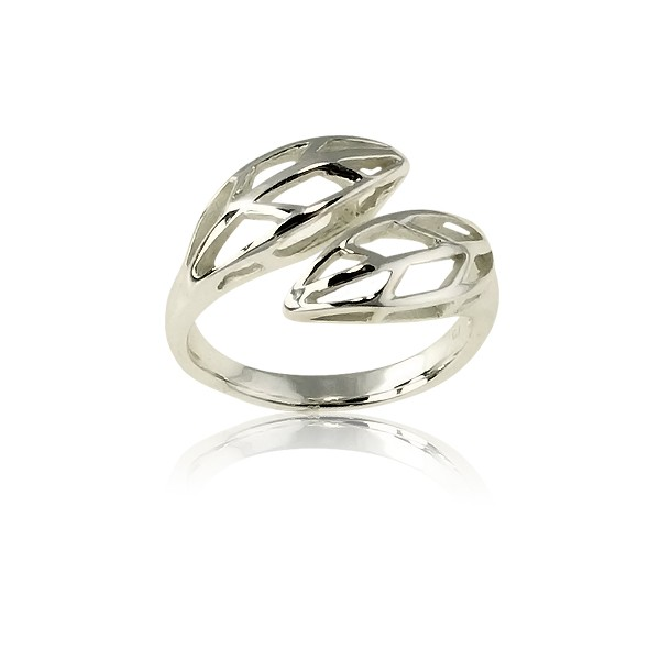 (SPECIAL ORD) Sterling Silver Leaves Ring