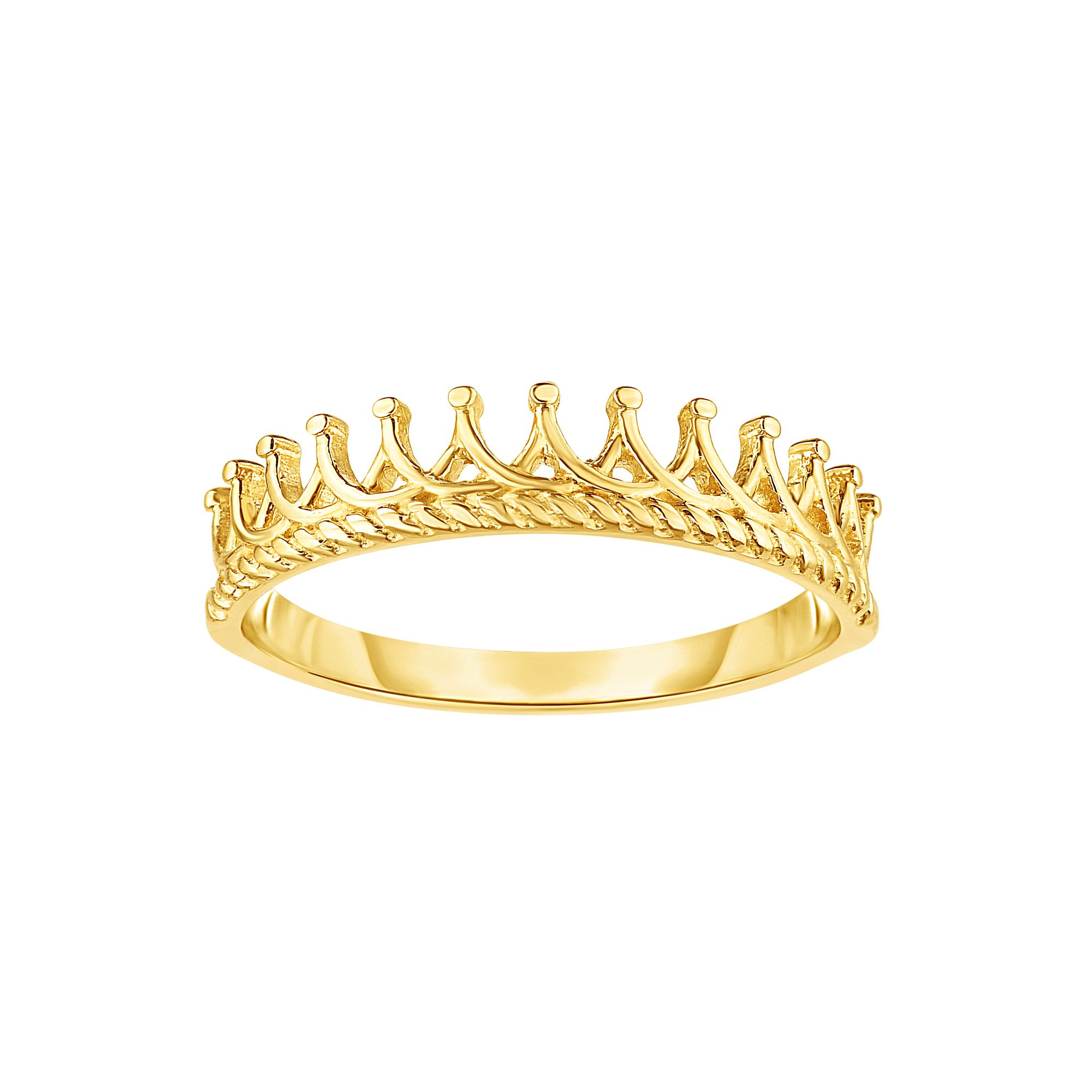 14kt Size-7 Yellow Gold Ring